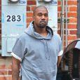 Kanye West va faire du shopping à Beverly Hills, le 11 juillet 2013.