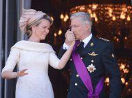 Philippe et Mathilde de Belgique : Le roi et la reine acclamés au balcon