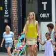 Heidi Klum en famille à New York le 2 juillet 2013