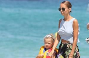 Nicole Richie : Yacht et plage à Saint-Tropez avec ses enfants et son chéri