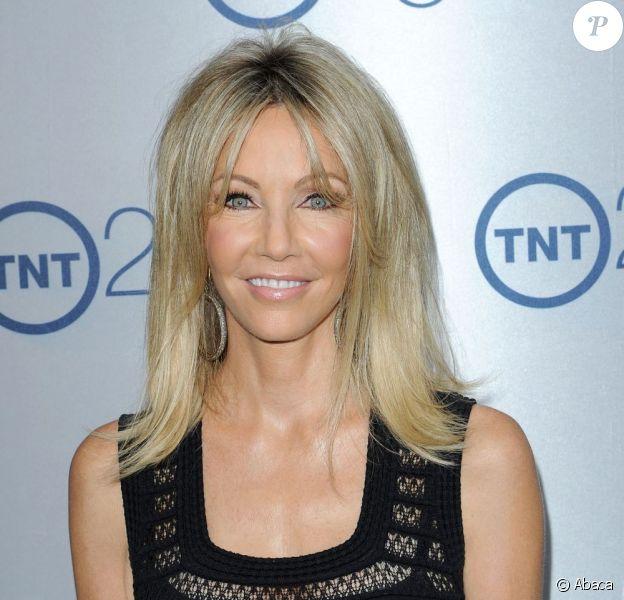 Heather Locklear lors de la soirée du 25e anniversaire de la chaîne TNT, au Beverly Hilton Hôtel, le 24 juillet 2013