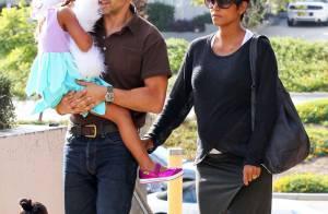 Halle Berry enceinte : Avec son chéri et Nahla pour une sortie familiale