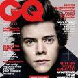 Harry Styles, du groupe One Direction, en couverture du GQ anglais, pour l'édition de septembre 2013.