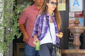 Jessica Alba in love : Baiser volé à son mari Cash Warren