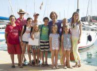 Letizia d'Espagne : Élégante sans Felipe, aux côtés des enfants et de la Reine