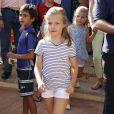 La princesse Leonor à Majorque, Espagne, le 2 août 2013.
