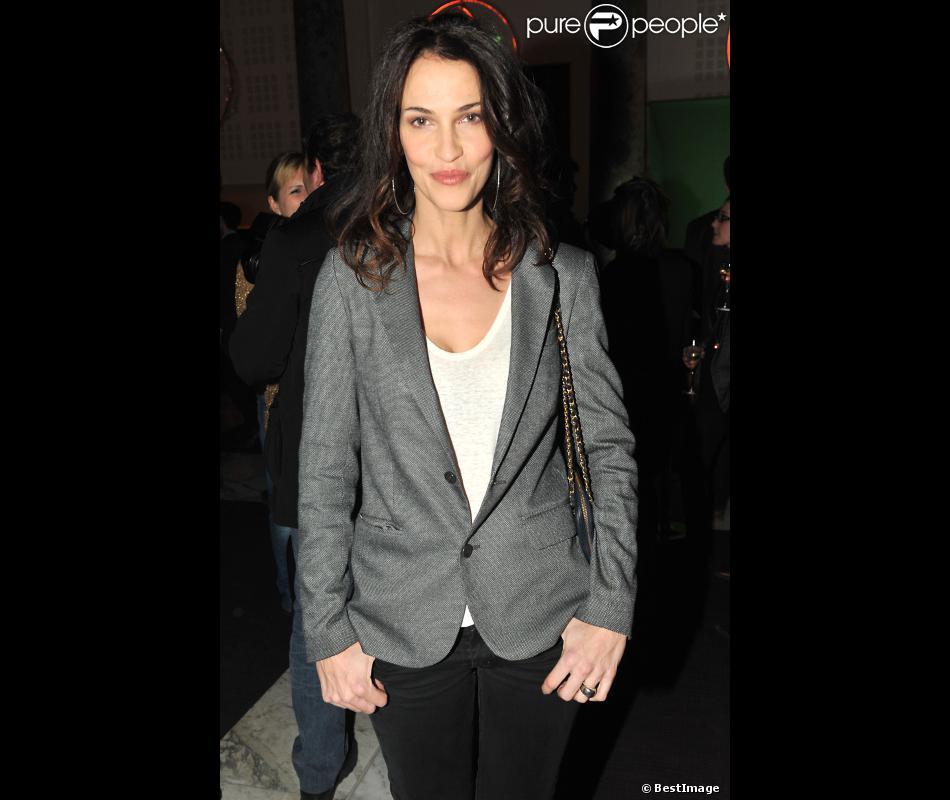 Linda Hardy à Paris le 13 éfvrier 2013.