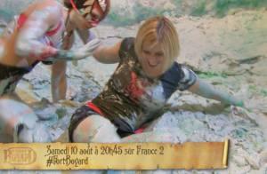 Fort Boyard : Nadège Lacroix, sexy et sauvage, pour le célèbre combat de boue