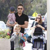 Jennifer Garner au marché avec son mari sexy, l'adorable Samuel et Violet