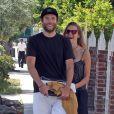 Exclusif - Teresa Palmer et son petit ami Mark Webber à Los Angeles Le 10 mai 2013.