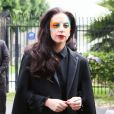 Lady Gaga quitte les studios d'une radio de Los Angeles, le 13 août 2013.