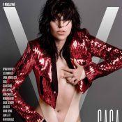 Lady Gaga : Nue (encore) pour V Magazine, toujours peinturlurée dans L.A.