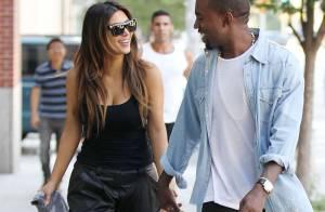 Kim Kardashian, Kanye West et North : Première sortie pour la petite famille