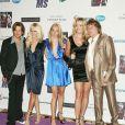 Sean Stewart, Kimberly Stewart, Rod Stewart et Penny Lancaster lors d'un gala de charité le 12 mai 2006 à Century City.