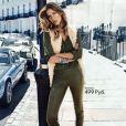 Gisele Bündchen pour H&M. Campagne publicitaire automne-hiver 2013.