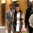 Kourtney Kardashian et Scott Disick se rendent à l'anniversaire de Kylie Jenner à Los Angeles, le 17 août 2013.