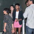 Willow Smith arrive à l'anniversaire de Kylie Jenner à Los Angeles, le 17 août 2013.