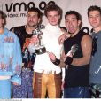 Les 'N Sync lors des MTV Vidoe Music Awards à New York en 2000.