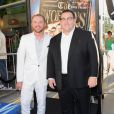 Simon Pegg et Nick Frost à la première du film Le Dernier pub avant la fin du monde (The World's End) à Los Angeles, le 21 août 2013.