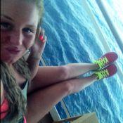 Secret Story 5 - Aurélie Van Daelen se blesse et finit dans le plâtre à Tahiti !