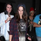 Lana Del Rey : Rock et grunge avec son boyfriend au concert de Courtney Love