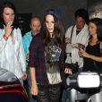 Lana Del Rey et son petit ami Barrie James O'Neill au concert de Courtney Love au  Troubadour  à West Hollywood, le 26 août 2013.