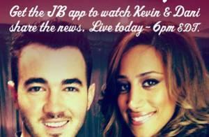 Kevin Jonas : Sa femme Danielle enceinte d'une petite fille !