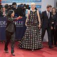 """Cate Blanchett lors de la première du film """"Blue Jasmine"""" et Hommage à Cate Blanchett au 39e Festival du cinéma américain de Deauville, le 31 août 2013."""