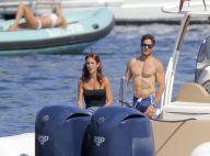 Silvio Berlusconi : Son fils bronzé et tout en muscles avec sa belle !