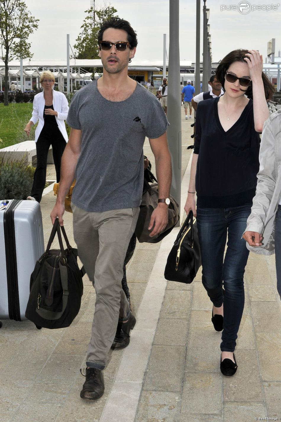 Michelle Dockery couple