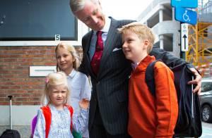Mathilde et Philippe de Belgique : Rentrée des classes variée pour leurs enfants
