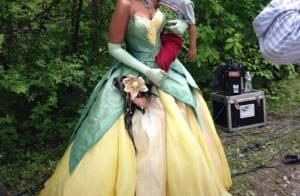 Jennifer Hudson se transforme en princesse Disney sous l'oeil de son fils