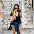 Khloé Kardashian quitte la villa de Katy Perry à Los Angeles, le 2 septembre 2013.