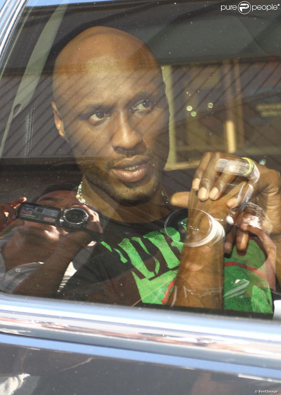 Lamar Odom à Los Angeles, le 31 août 2013. Le basketteur aurait décidé d'entrer en cure de désintox pour soigner ses addictions à la drogue et à l'alcool.