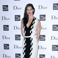 Hilary Rhoda assiste à la soirée Dior au centre commercial Saks Fifth Avenue. New York, le 6 septembre 2013.