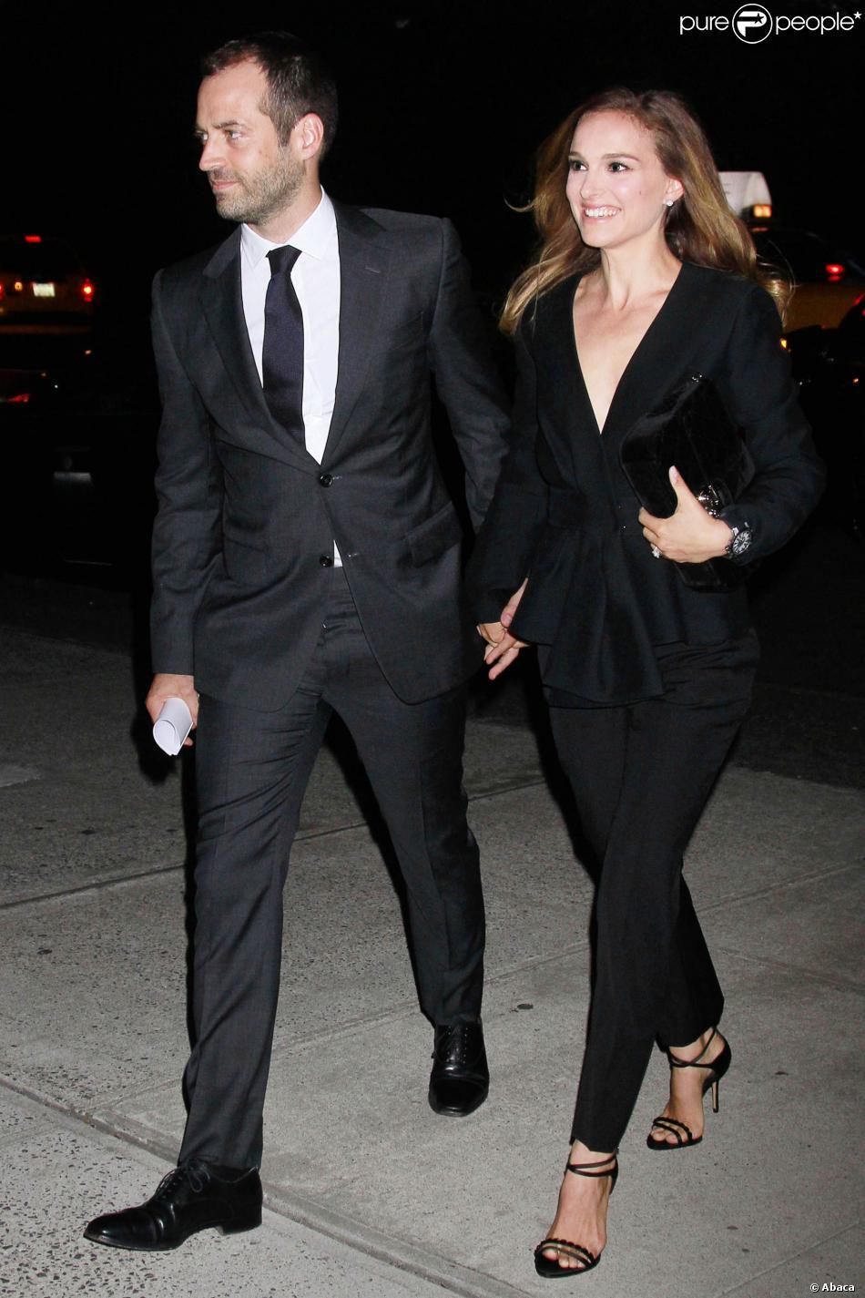 Benjamin Millepied Et Natalie Portman Les Futurs Parisiens