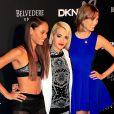 Joan Smalls, Rita Ora et Karlie Kloss assistent à la soirée du 25e anniversaire de la marque DKNY. New York, le 9 septembre 2013.