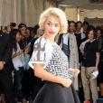 Rita Ora clôture le défilé DKNY printemps-été 2014 au studio Cedar Lake. New York, le 8 septembre 2013.