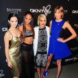 Emmy Rossum, Joan Smalls, Rita Ora et Karlie Kloss assistent à la soirée du 25e anniversaire de la marque DKNY. New York, le 9 septembre 2013.