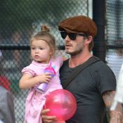 David Beckham et son adorable Harper : Une pause tendresse sans Victoria