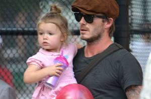 David Beckham et son adorable Harper : Une pause tendresse sans Victoria