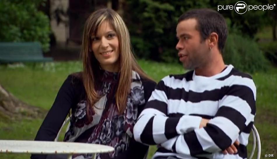 Carine et Nicolas lors du bilan de L'Amour est dans le pré 8.