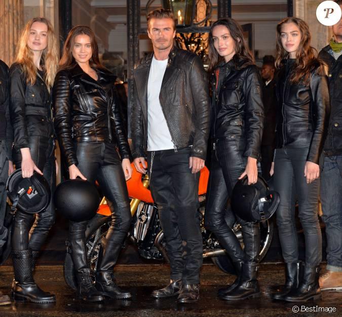 David beckham un biker en charmante compagnie lors de l 39 inauguration de - Maison de david beckham ...
