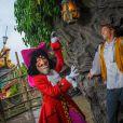 Camille Lacourt prend son nouveau rôle de héros Disney très à coeur et s'amuse comme un grand enfant à Disneyland Paris le week-end du 15 septembre 2013