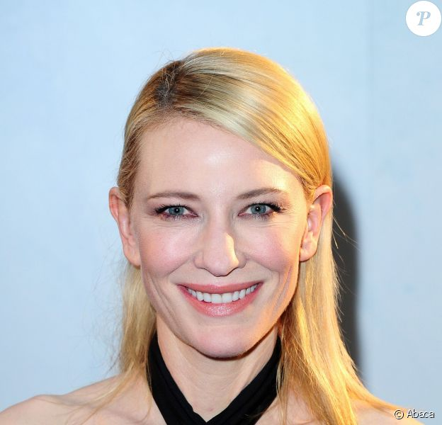 Cate Blanchett lors de la première de Blue Jasmine à l'Odeon West End à Londres, le 7 septembre 2013.