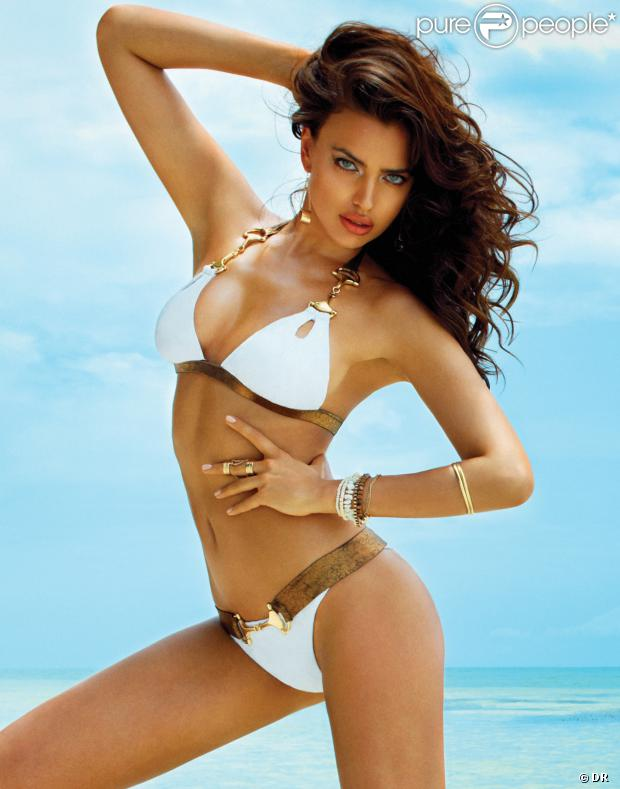Irina Shayk expose sa jolie plastique pour sa collection de bikinis, Irina Shayk for Beach Bunny.