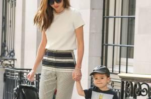 Miranda Kerr : Maman au top avec le craquant Flynn, sosie de son papa