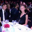 Archie Drury et Karolina Kurkova lors du gala de l'amfAR à Milan, le 21 septembre 2013.