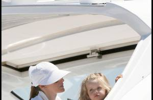 PHOTOS : La princesse Letizia et sa fille sont sur un bateau...