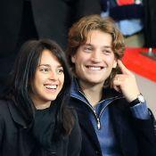 PSG-Monaco : Nicolas et Jean Sarkozy, supporter avec sa femme Jessica, au Parc